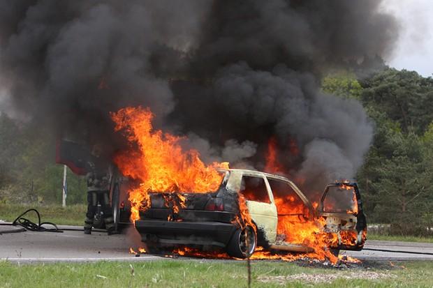 Autobrand Elspeterweg